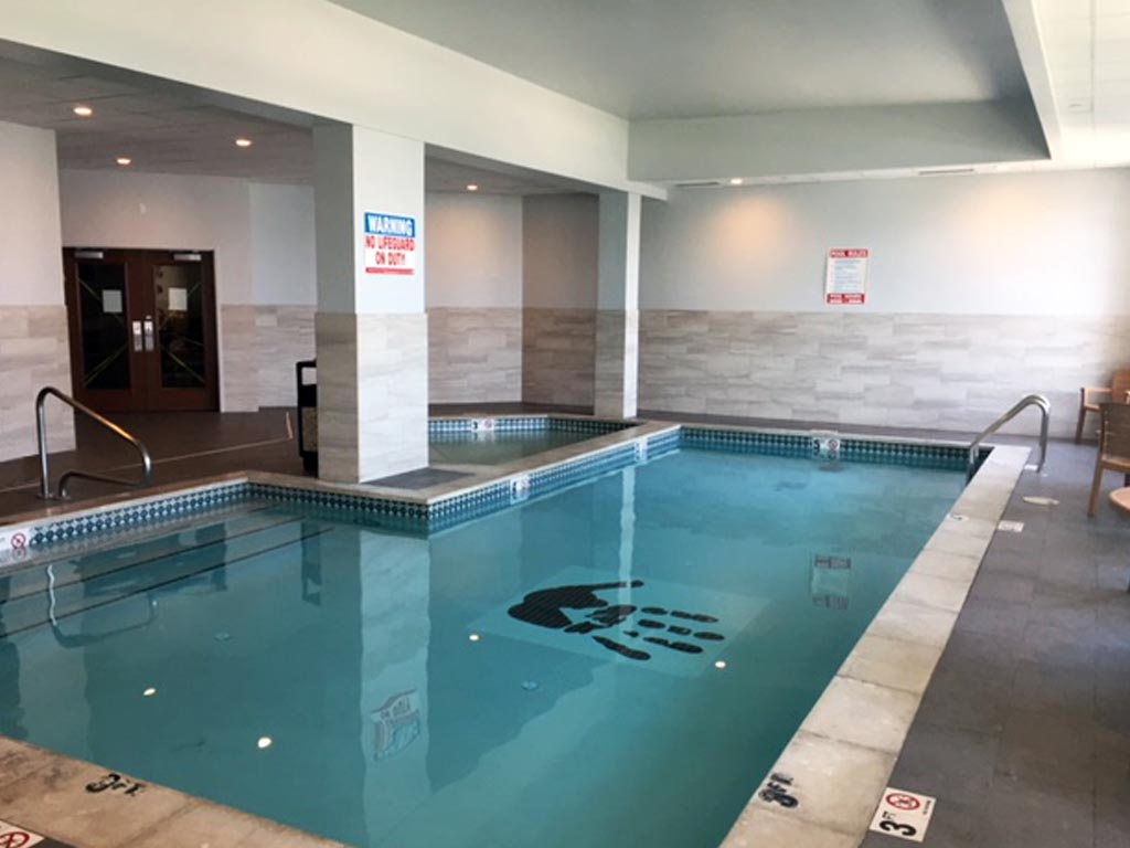 Kwataqnuk Resort Pool Room Renovation