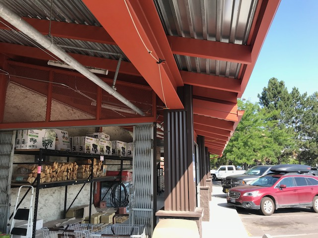 Murdoch's Ranch & Home Supply Covered Awning
